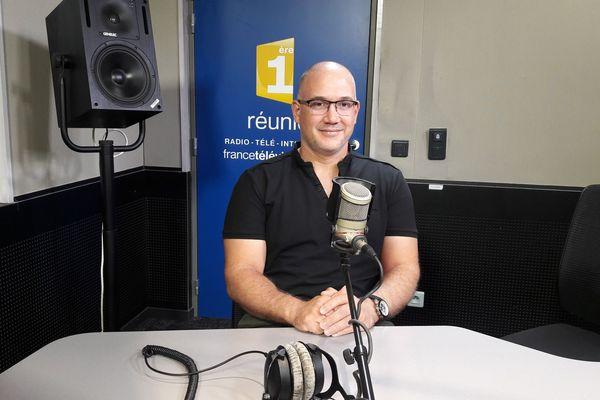 Eric Fontaine, directeur de l'Association Réunionnaise des Centres de Vacances