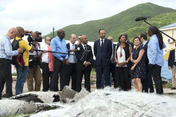 Edouard Philippe en Guadeloupe