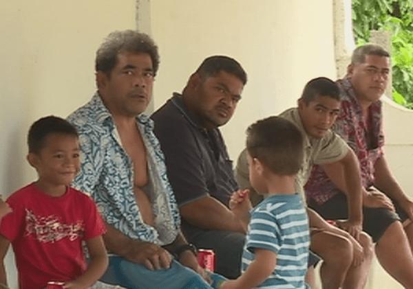 parents d'élèves de l'école de Fiua à futuna