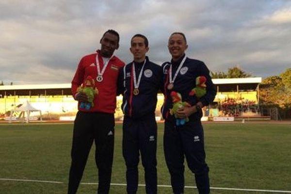 Deux médailles dont l'or pour les Réunionnais au saut à la perche.