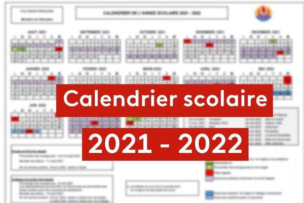 Education : découvrez le calendrier scolaire 2021-2022