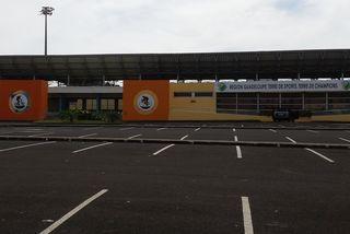 Vélodrome Amédée Détraux (Gourde Liane) Baie-Mahault, site choisi pour la coupe Davis en Guadeloupe