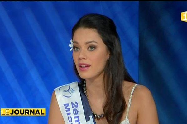 Invitée du journal : Vaea Ferrand Miss Tahiti