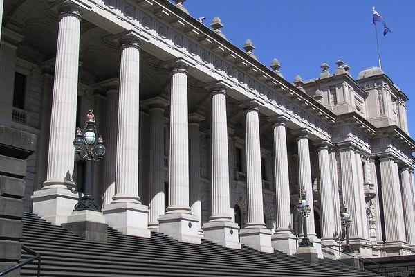 Parlement de l'Etat du Victoria Melbourne (photo 2007 Wiki commons libre de droit)