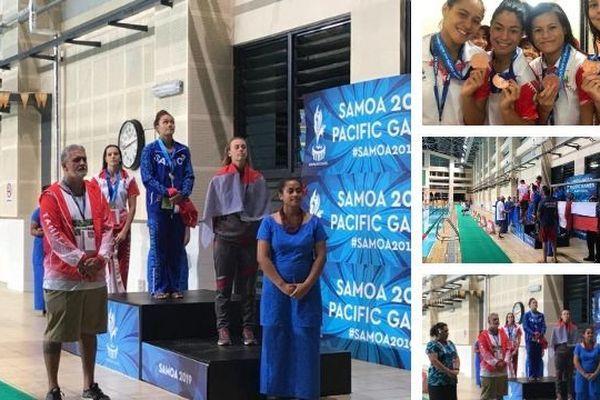 Samoa 2019 : la natation