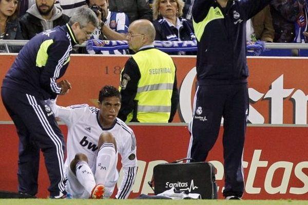 Raphael Varane blessé Real Madrid