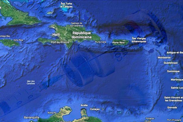 Carte Caraïbe Covid
