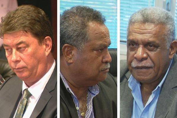 Election (ratée) du gouvernement, 17 février 2021 : Santa, Hnepeune, Mapou