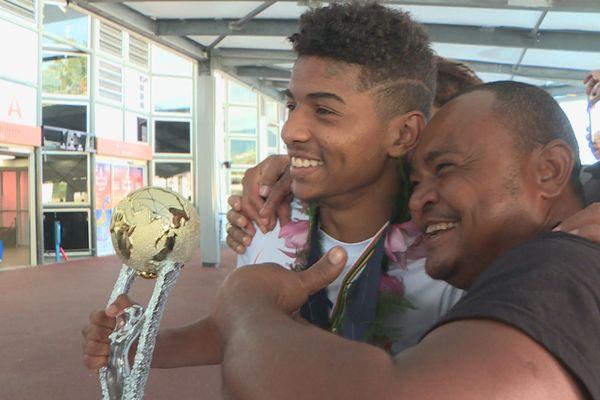 Le retour d'Alexis Germane à la Réunion