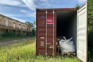 Une décharge sauvage de déchets amiantés