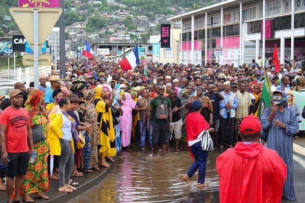 Manifestation Mayotte 2