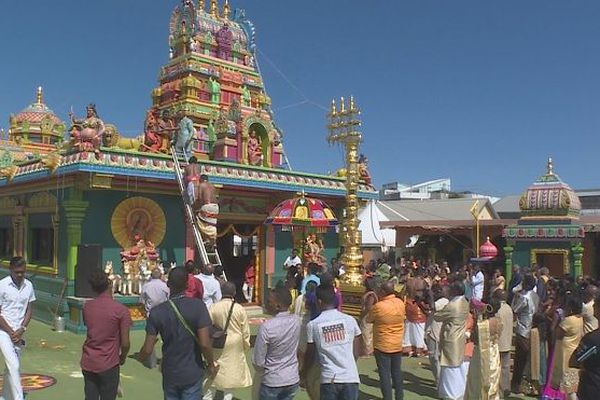 inauguration temple malbar st gilles les hauts