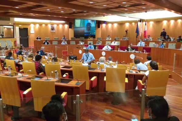 Plénière à la CTG