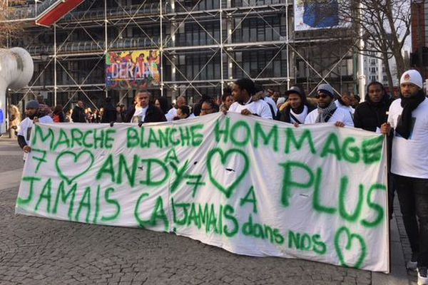 Marche blanche andy