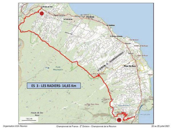 Etape 3 Tour Auto Les Radiers