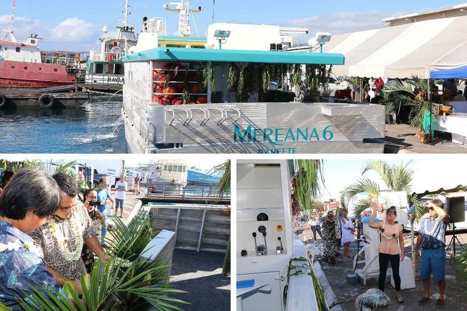 Mereana 6 : un nouveau thonier entre en service - Polynésie la 1ère