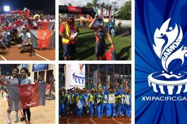 Samoa 2019, mosaïque dernier journal des Jeux