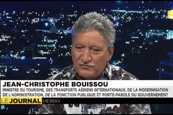 """Jean Christophe Bouissou : """" Oscar Temaru a bien évolué """""""