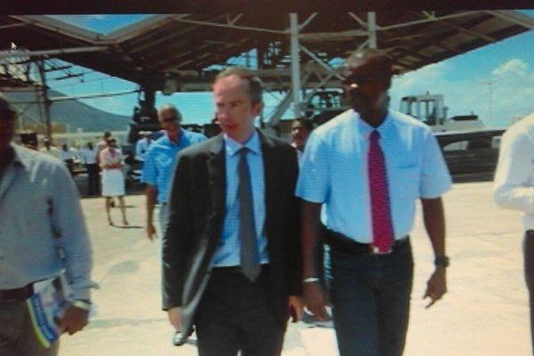Chalus sur le port de Basse-Terre
