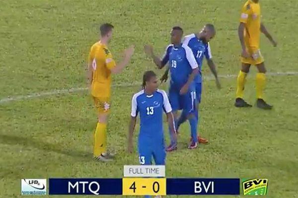 La sélection de Martinique