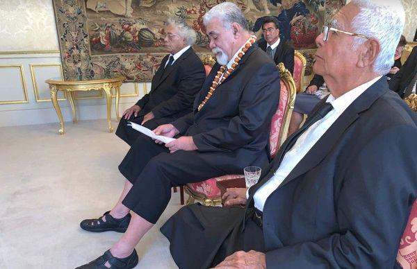 les rois de Wallis et Futuna au Sénat