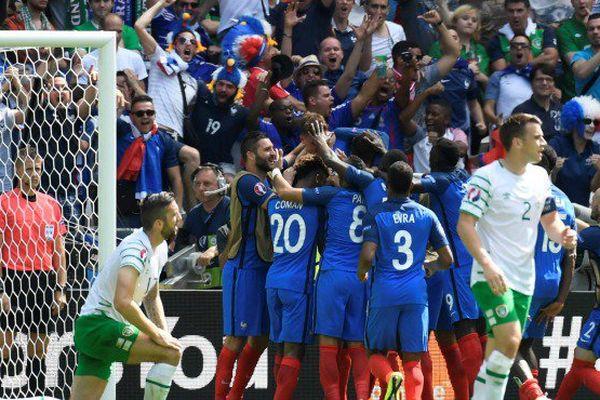 Victoire des Bleus