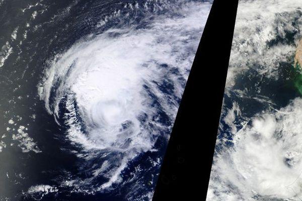 L'Ouragan Fred dans l'océan atlantique