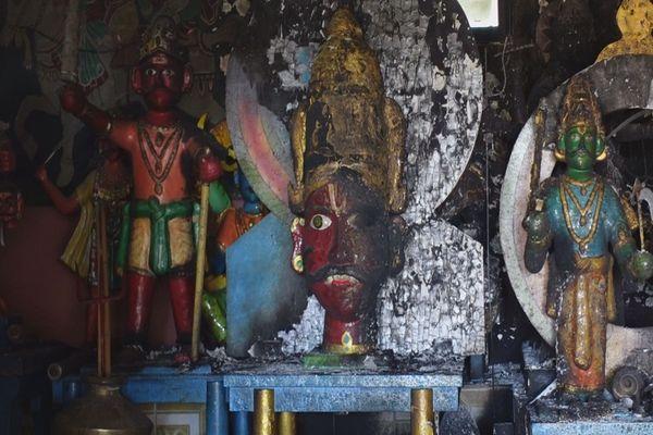 Ravine Creuse : le temple Pandialé incendié, les fidèles ne décolèrent pas