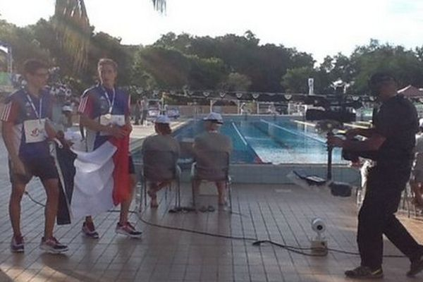JIOI natation médaillés