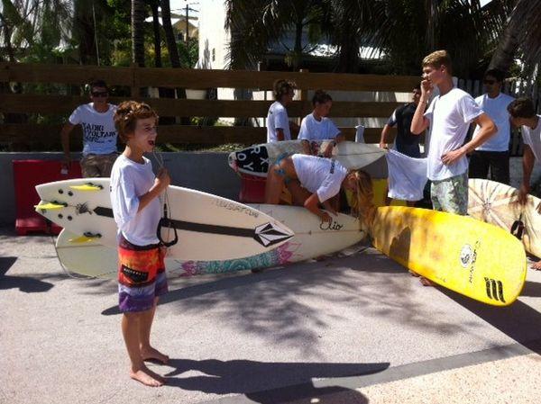 Surfeurs du Pôle espoir