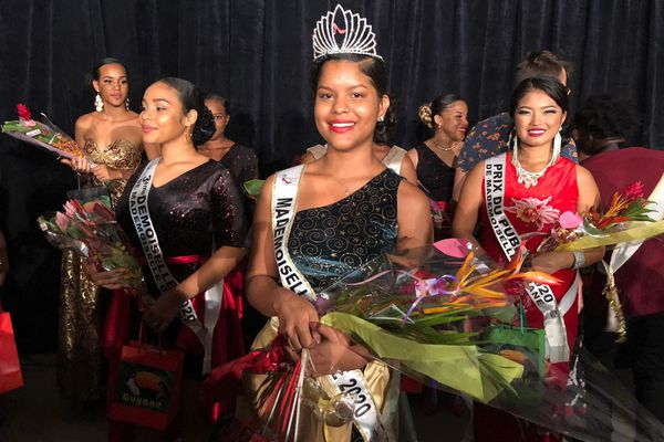 Mademoiselle Guyane 2020 Tiffany Setoe