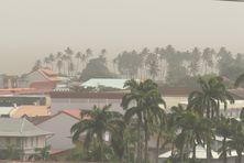 Poussières du Sahara sur Cayenne