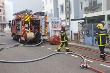 L'incendie s'est déclaré dans une habitation de la rue du Piton de la Fournaise, à Saint-Denis
