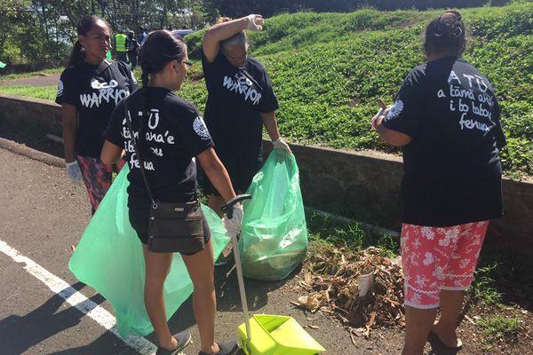 Ramasse de déchets eco warrior