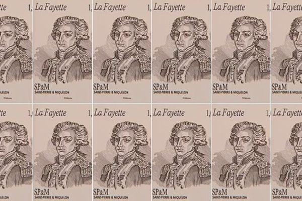 Des timbres à l'effigie de l'Hermione et La Fayette vont arriver à Saint-Pierre-et-Miquelon