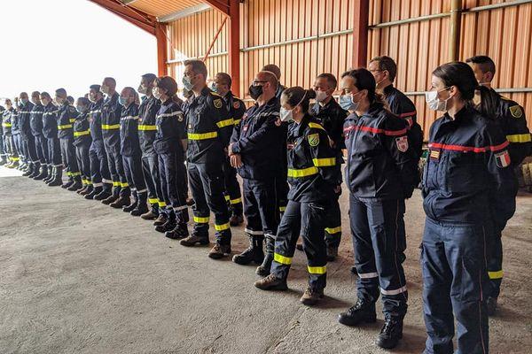 Les 35 membres de la sécurité civile envoyés à Mayotte