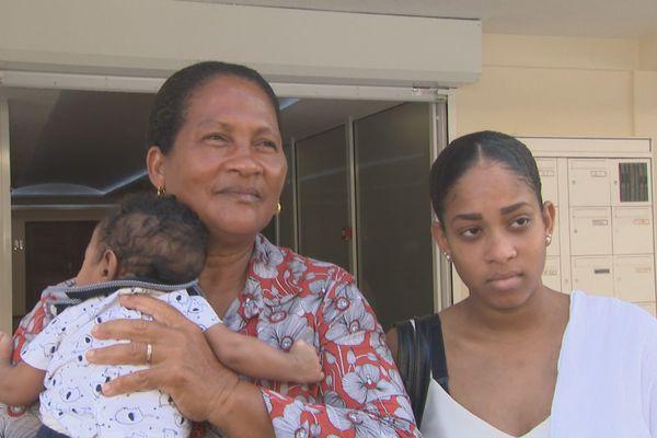 Mère et Grand mère de Kilian