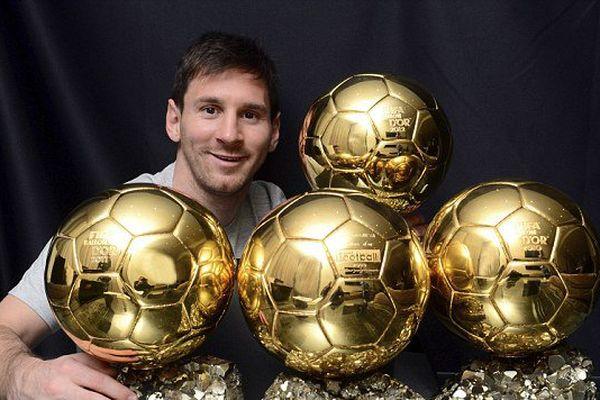 5ème ballon d'or pour Lionel Messi