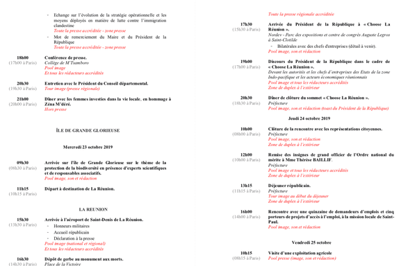 Programme Macron