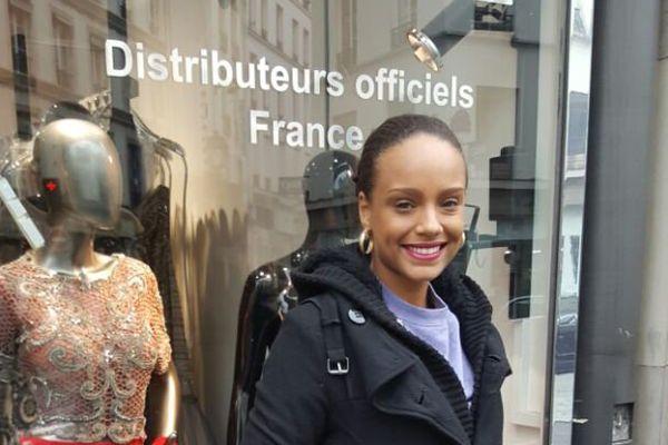 Alicia Aylès Miss Guyane à Paris