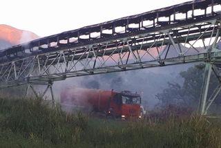 Incendie tapis SLN Kouaoua