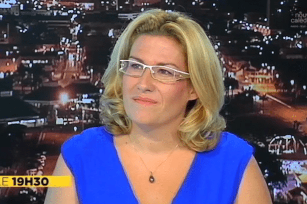 Sonia Backes au JT de NC 1ere (26/04/2015)