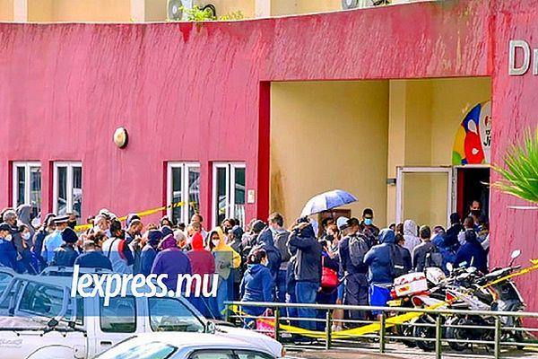 Maurice décès d'un homme de 65 ans à Curepipe devant un centre de vaccination 7 juin 2021