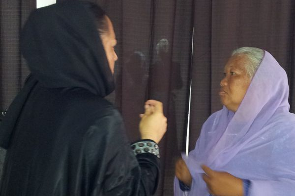 voile musulmanes polynésiennes
