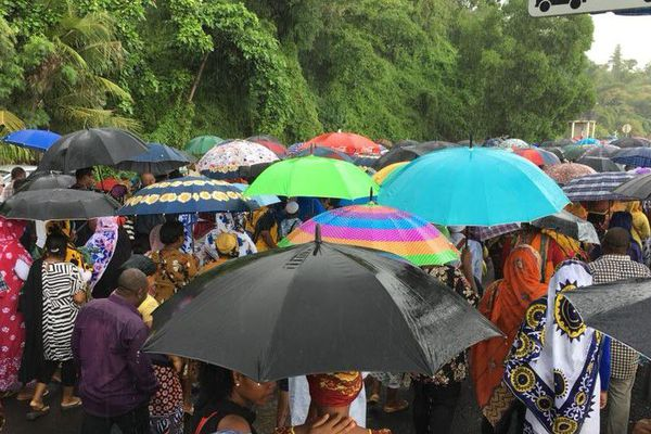 Mayotte manif pluie