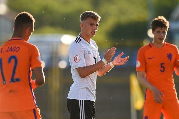 L'une des futures stars du Mondial U17 ? (l'Allemand Arp)