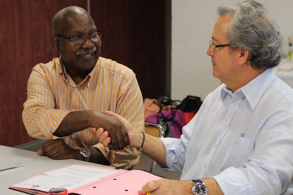 Guyane 1ère et le lycée Lama-Prévot ont signé un renouvellement de convention