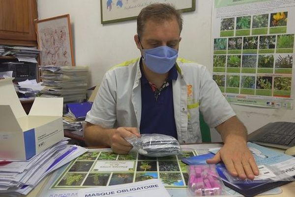 coronavirus test TROD serologique pharmacien Paul Dumas 210720