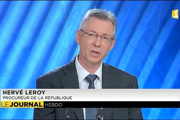 Hervé Leroy : Plus de 43 kg d'Ice sont arrivés en Polynésie depuis le début de l'année pour  une valeur marchande de 4 milliards de francs