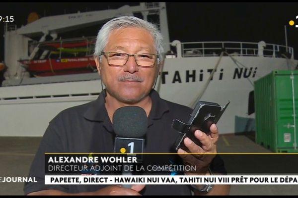 Invité du journal, Alexandre Wohler, directeur adjoint de la compétition Hawaiki Nui